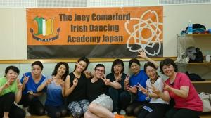 The Workshop Let's try Irish Dance!