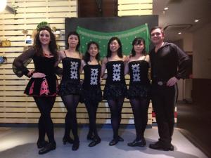 Joey, Lori and JCIDJ dancers
